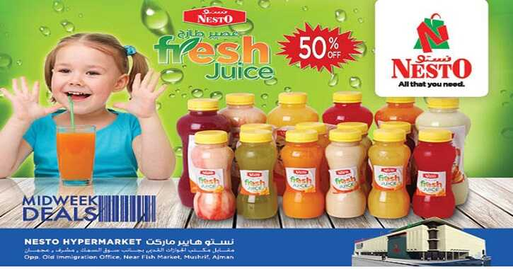 nesto ajman offers from today to 20 july 2016