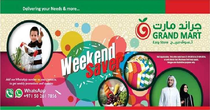grand mart offers uae to 27-9-2016