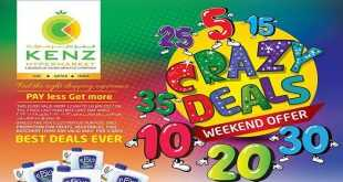 kenz hypermarket offers weekend