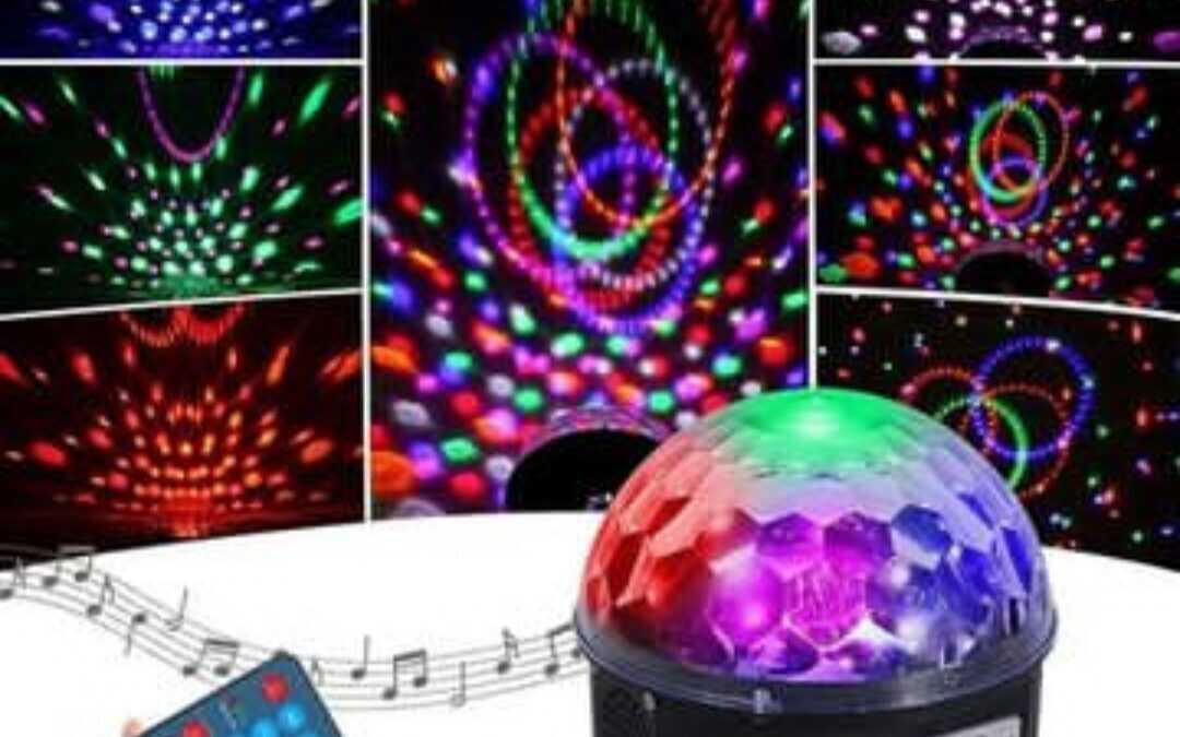كرة الديجي للحفلات ميزاتها واستخدامها:
